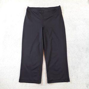 Ideology Crop Flare Yoga Pants Leggings Black S